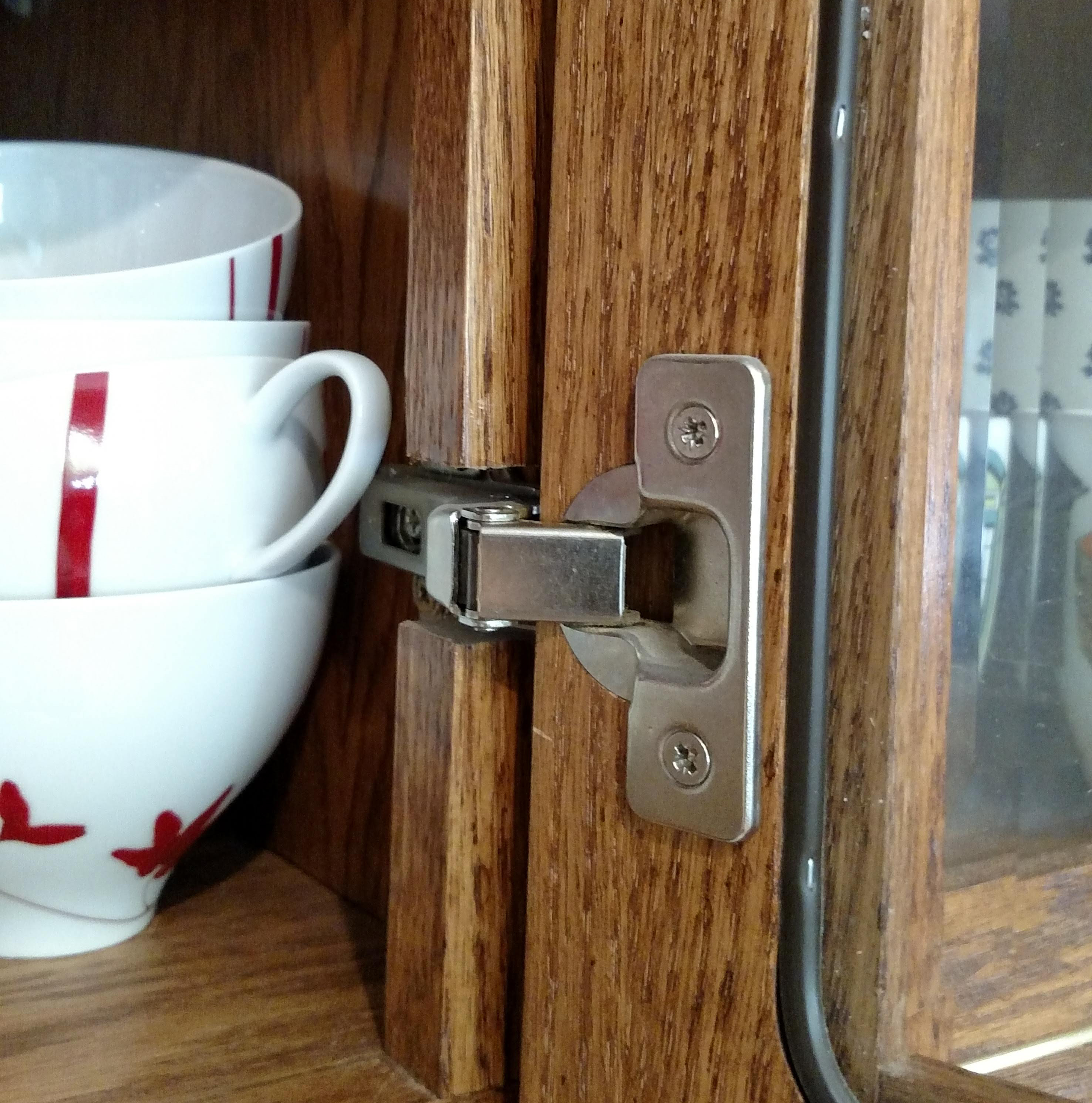 How To Adjust European Hinges Creative Cabinets